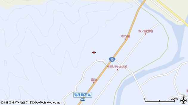 大分県佐伯市弥生大字井崎1990周辺の地図