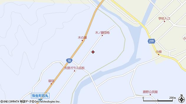 大分県佐伯市弥生大字井崎1617周辺の地図