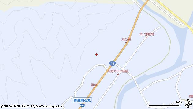 大分県佐伯市弥生大字井崎1994周辺の地図