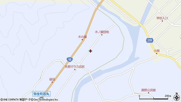 大分県佐伯市弥生大字井崎1620周辺の地図