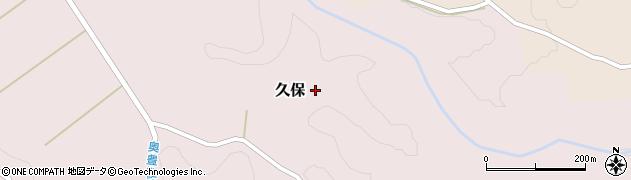大分県竹田市久保1025周辺の地図
