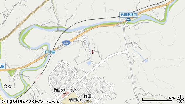 大分県竹田市会々1802周辺の地図