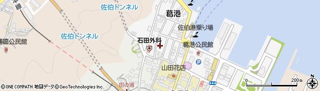 大分県佐伯市葛港7周辺の地図
