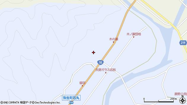 大分県佐伯市弥生大字井崎1935周辺の地図