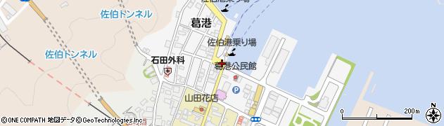 大分県佐伯市葛港18周辺の地図