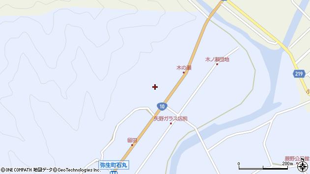 大分県佐伯市弥生大字井崎1934周辺の地図