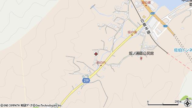 大分県佐伯市鶴望4544周辺の地図