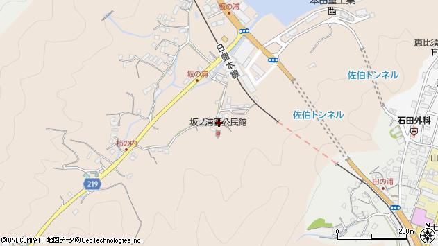 大分県佐伯市鶴望4450周辺の地図