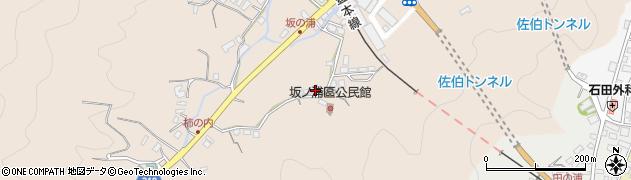 大分県佐伯市鶴望4488周辺の地図