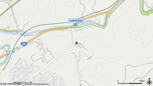 大分県竹田市挟田670周辺の地図