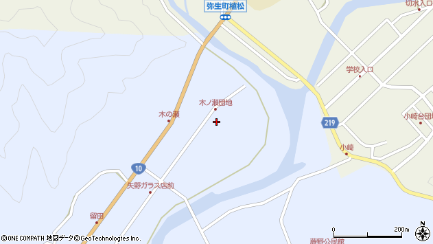 大分県佐伯市弥生大字井崎1820周辺の地図