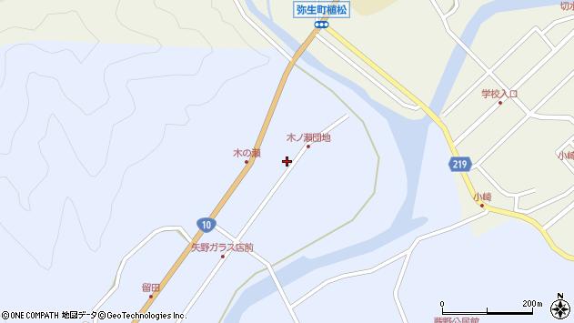 大分県佐伯市弥生大字井崎1788周辺の地図