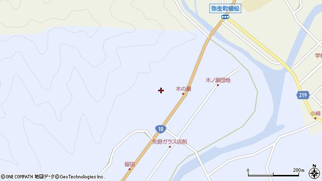大分県佐伯市弥生大字井崎1917周辺の地図