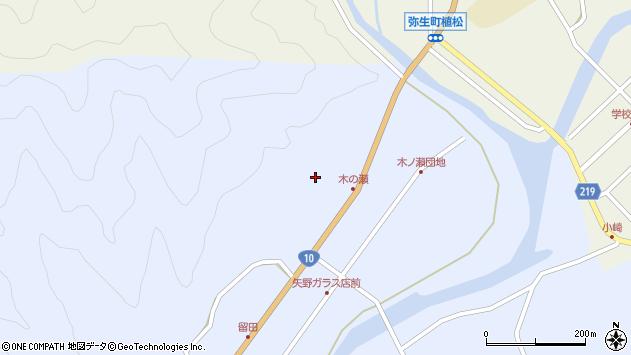 大分県佐伯市弥生大字井崎1905周辺の地図
