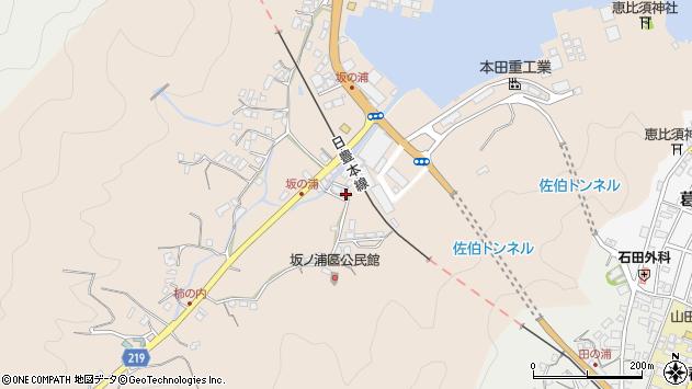 大分県佐伯市鶴望4964周辺の地図