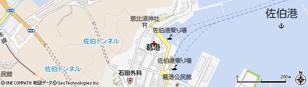 大分県佐伯市葛港13周辺の地図