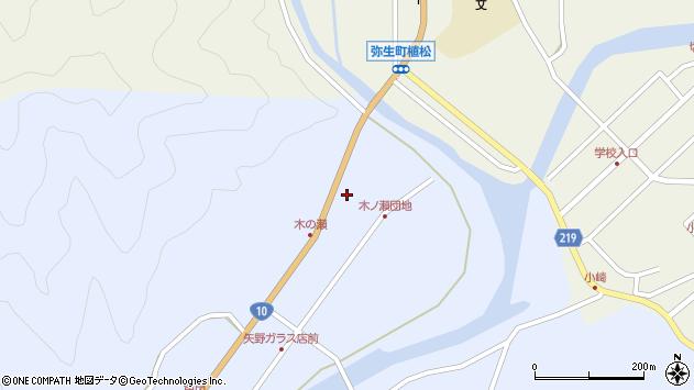 大分県佐伯市弥生大字井崎1851周辺の地図