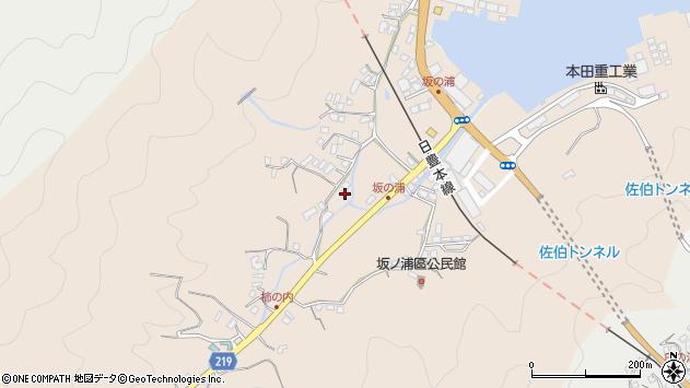 大分県佐伯市鶴望4617周辺の地図
