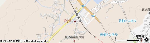 大分県佐伯市鶴望4963周辺の地図