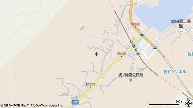 大分県佐伯市鶴望4567周辺の地図
