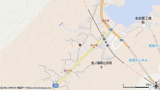 大分県佐伯市鶴望4624周辺の地図