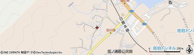 大分県佐伯市鶴望4672周辺の地図