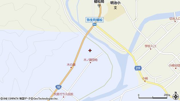 大分県佐伯市弥生大字井崎1834周辺の地図