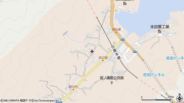 大分県佐伯市鶴望4674周辺の地図