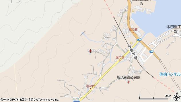 大分県佐伯市鶴望4631周辺の地図