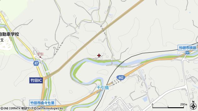 大分県竹田市会々648周辺の地図