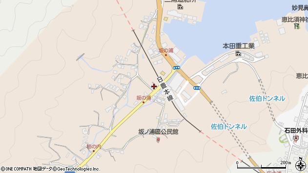 大分県佐伯市鶴望4959周辺の地図