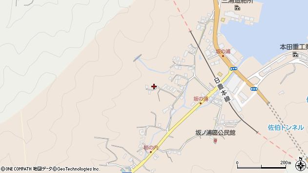 大分県佐伯市鶴望4629周辺の地図
