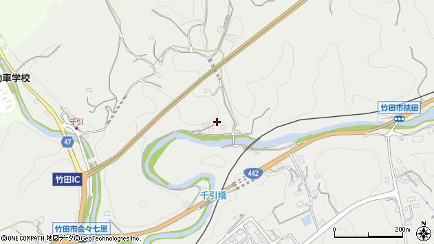 大分県竹田市会々649周辺の地図