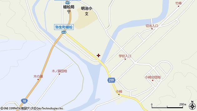 大分県佐伯市弥生大字大坂本988周辺の地図