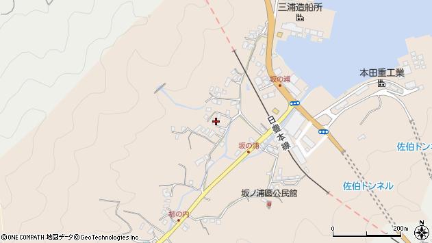 大分県佐伯市鶴望4679周辺の地図