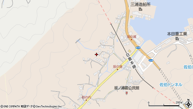 大分県佐伯市鶴望4663周辺の地図