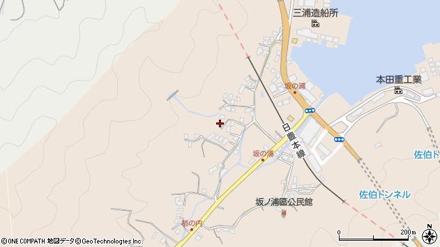 大分県佐伯市鶴望4682周辺の地図