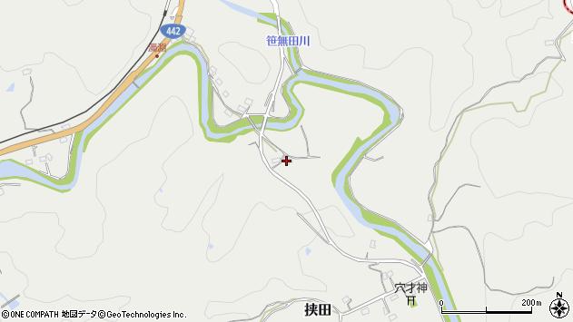大分県竹田市挟田910周辺の地図
