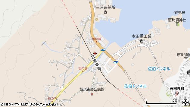大分県佐伯市鶴望4955周辺の地図