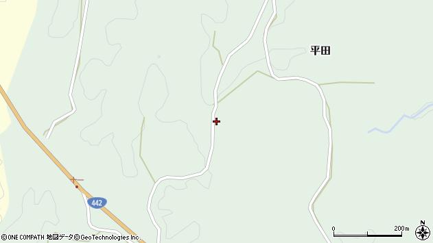 大分県竹田市平田2522周辺の地図