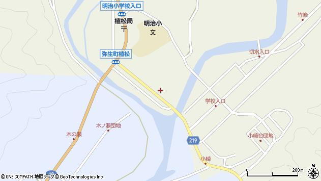大分県佐伯市弥生大字大坂本986周辺の地図