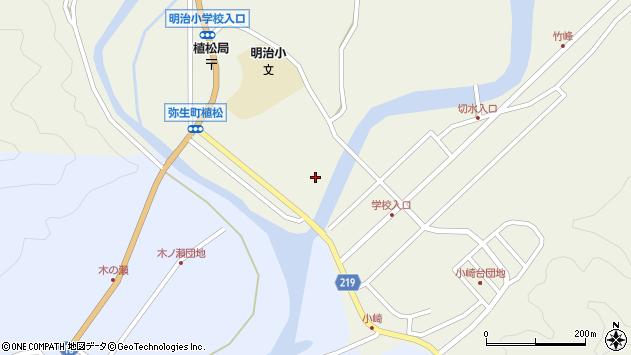 大分県佐伯市弥生大字大坂本973周辺の地図