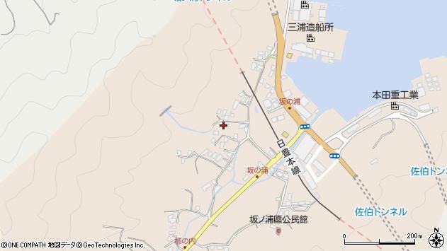 大分県佐伯市鶴望4687周辺の地図