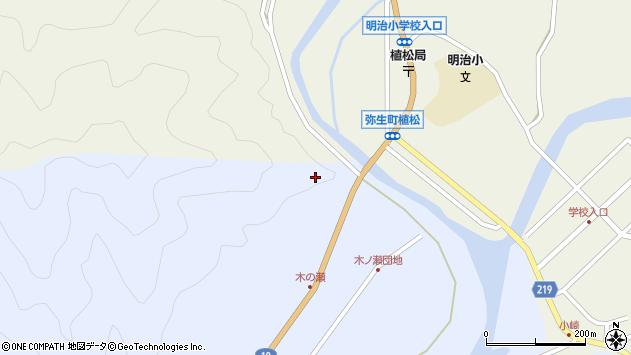 大分県佐伯市弥生大字井崎1870周辺の地図