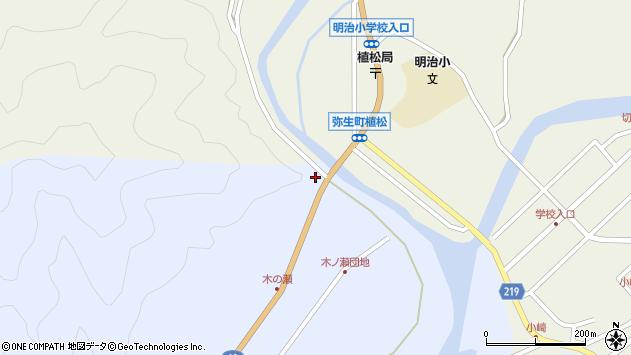 大分県佐伯市弥生大字大坂本2484周辺の地図