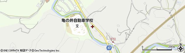 大分県竹田市会々9周辺の地図