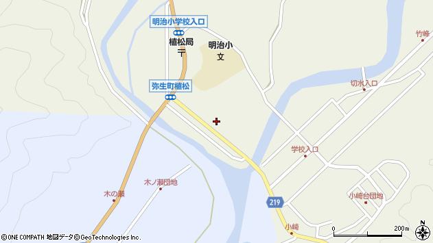 大分県佐伯市弥生大字大坂本1002周辺の地図