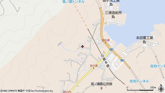 大分県佐伯市鶴望4717周辺の地図