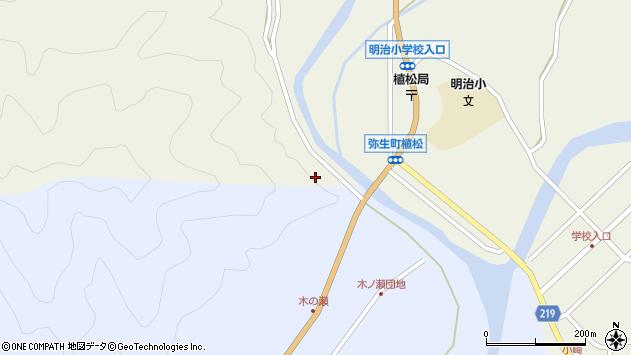 大分県佐伯市弥生大字大坂本2483周辺の地図