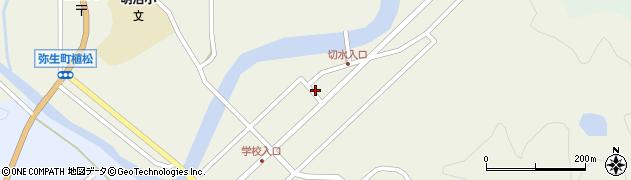 大分県佐伯市弥生大字大坂本504周辺の地図
